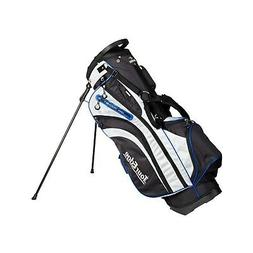 hl3 golf stand bag black silver lime