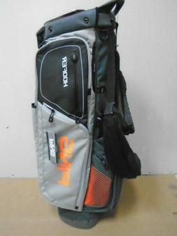 PING ~ HOOFER ~ BLACK/GRAY/ORANGE ~ GOLF STAND BAG ~ NEW