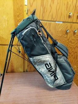 PING Hoofer Carry Golf Bag - Black / White / Pixellated Camo