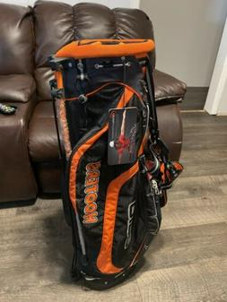 Hooters Ogio Helios Ultralite Performance Stand Golf Bag Bla
