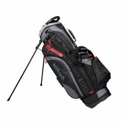 Tour Edge Hot Launch HL4 Golf Stand Carry Bag-Black Red Silv