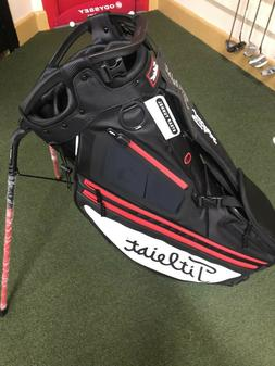 Titleist Hybrid 14 Golf Stand Bag-TB9SX14-Black/White/Red-Ti