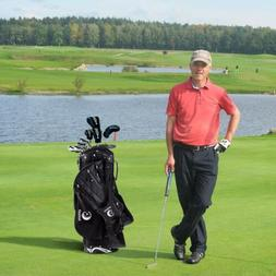 Hyper-Lite 6 Way Outdoor Sport Divider Golf Stand Cart Bag W