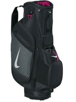Nike Sport III Cart Bag-Black/Silver/Fireberry