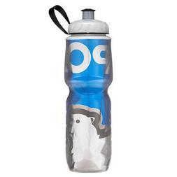 Polar Bottle 24oz Insulated Water Bottle in Big Bear Blue