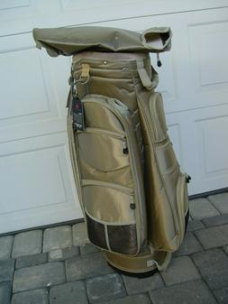 KNIGHT LADIES CHART/CARRY GOLF BAG COLOR TAN FULL LENGTH DIV