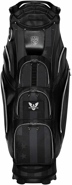 15 club golf cart bag 15 individual