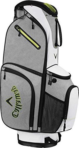 2017 x alpha cart bag silver white