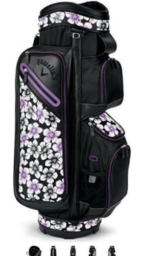 2018 Callaway Uptown Black/Purple towel clutch