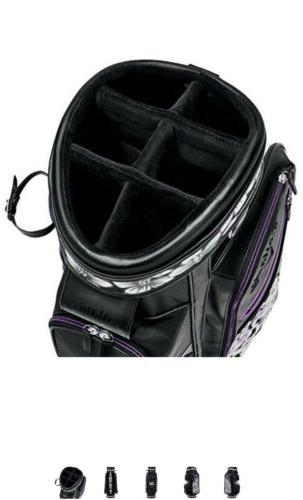 2018 Womens Golf Uptown Black/Purple towel + clutch