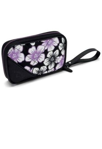 2018 Callaway Uptown Bag Floral Black/Purple clutch