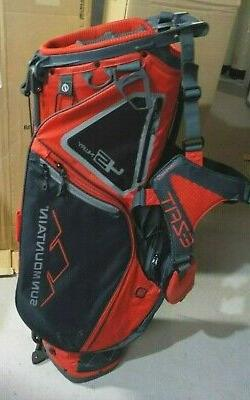2019 Sun Mountain 4.5 LS 14 Way Carry Stand Golf Bag Red / S