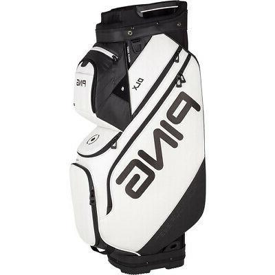 2019 dlx cart golf bag white