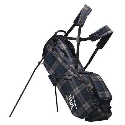 2019 flextech lifestyle stand golf bag blue