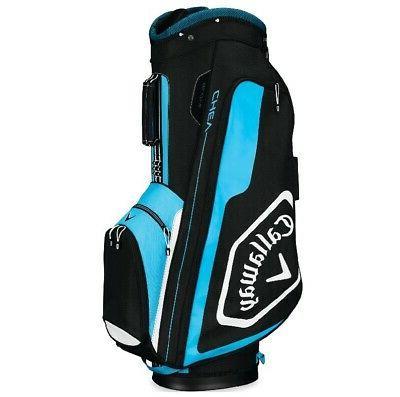 2019 golf chev cart bag black blue