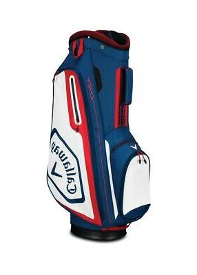 2019 golf chev cart bag navy white