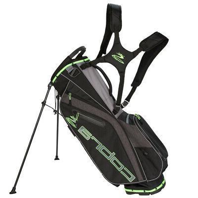 2019 ultralight stand golf bag black