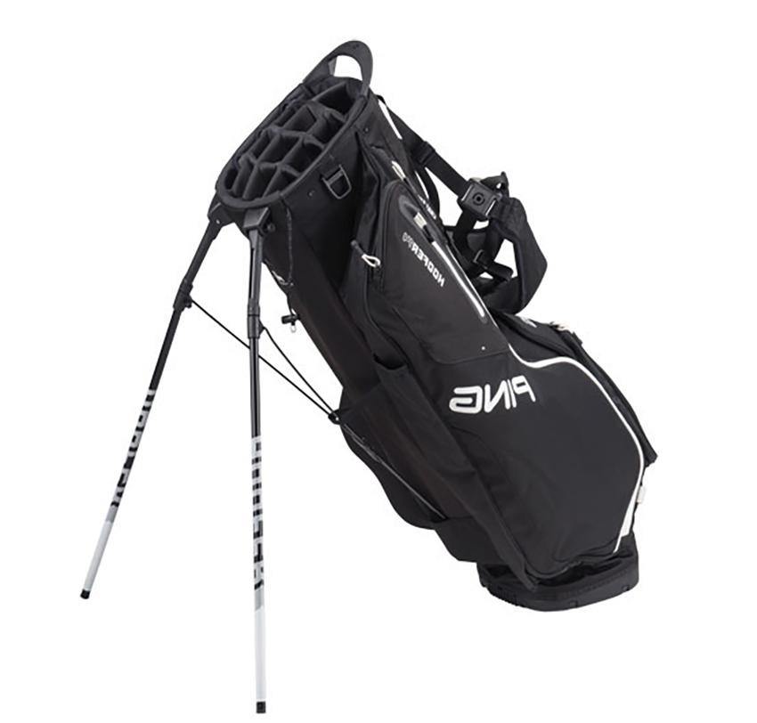 PING HOOFER GOLF STAND - BLACK