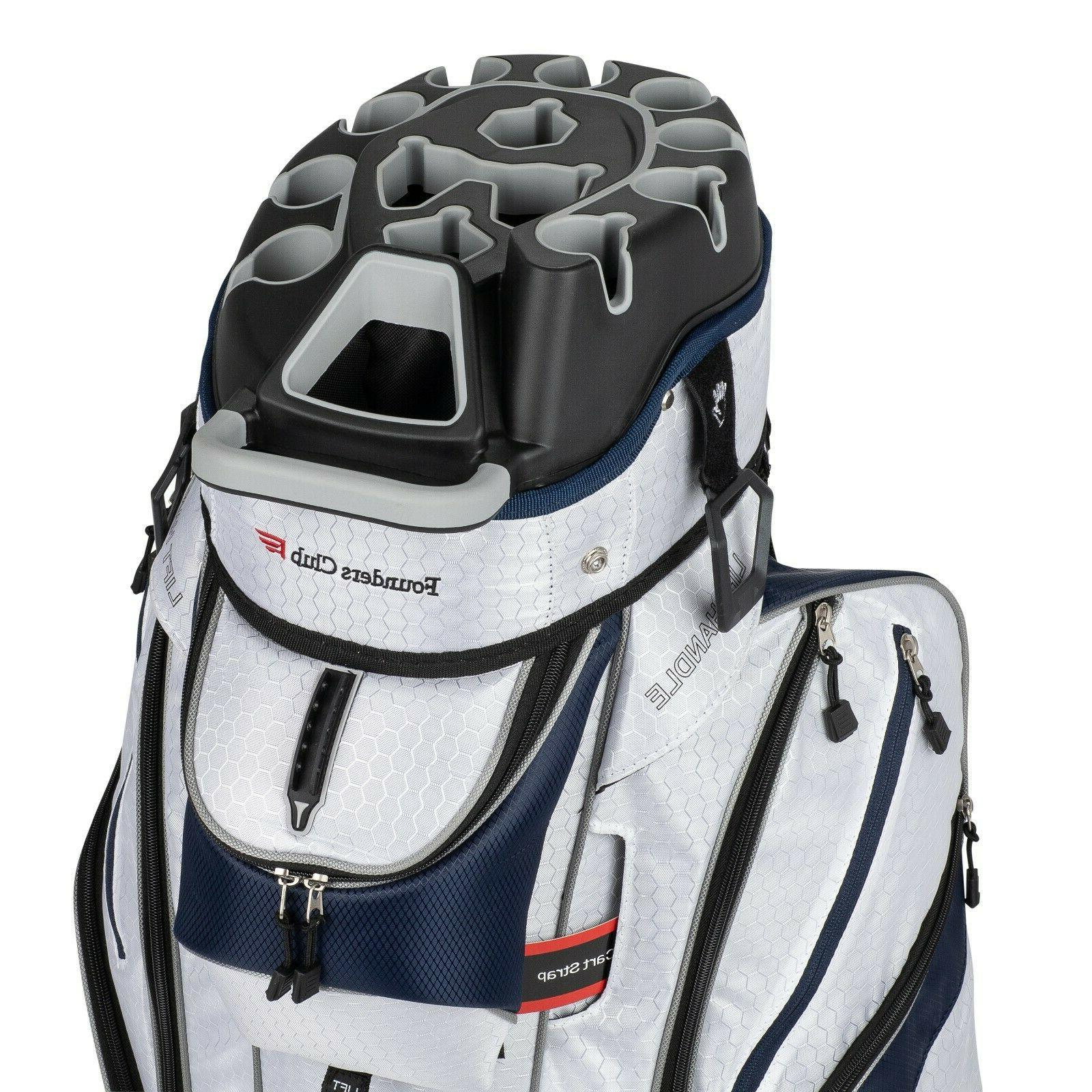 Founders 3G Way Organizer Top Golf Cart Bag with Full Length