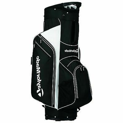TaylorMade 5.0 Cart Bag Black/White
