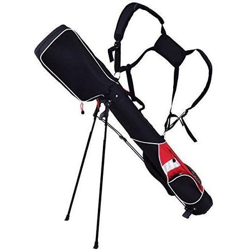 Tangkula Golf Club 7 Dividers Carry Bag Bag