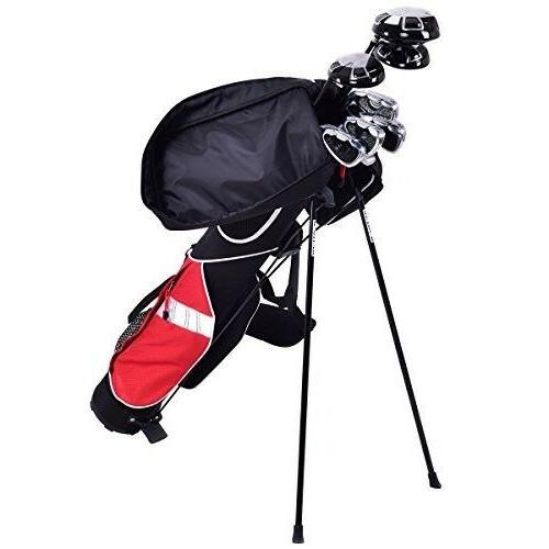 "Tangkula 5"" Golf Club Carry Bag Golf Stand Bag"