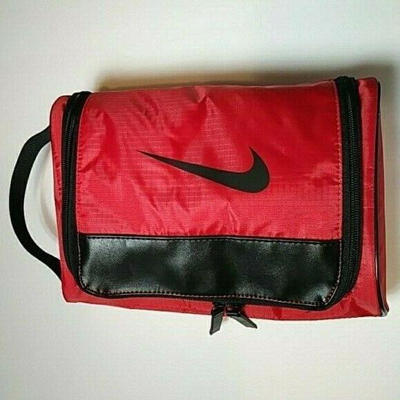 50 toiletry bag travel bag red rare