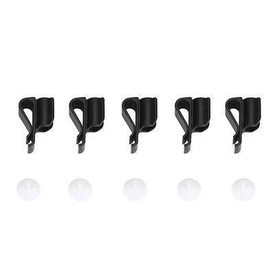 5pcs golfing bag clamp club grip kit