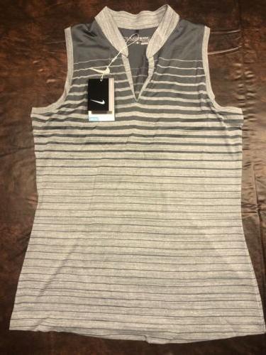 $75 Ladies Striped Tank Top Dri-Fit Medium &