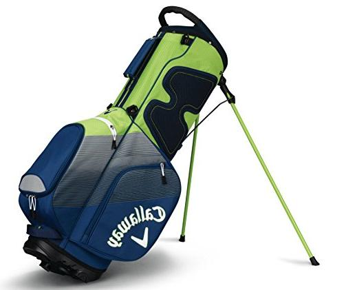 Callaway Golf Stand Bag, Navy/Silver/