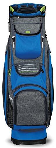 Callaway Golf Org 14 Cart Bag, Blue/ Green