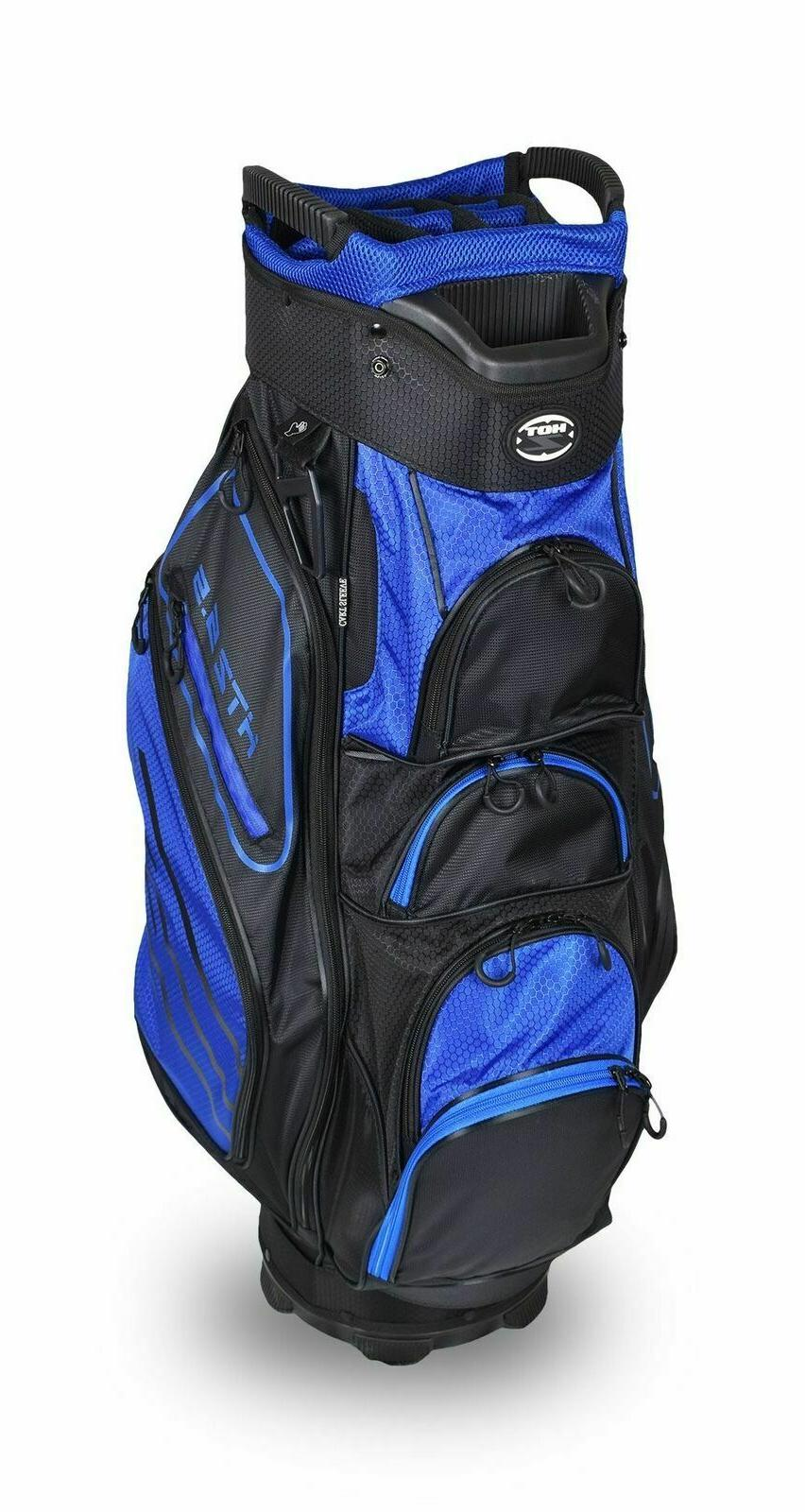 Hot-Z Golf 2018 5.5 Cart Blue/Black Bag
