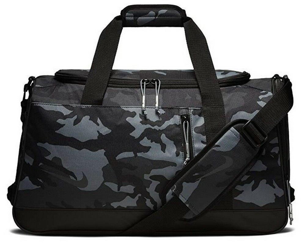 NIKE Sport All Over Print Golf Duffel Bag, Anthracite/Black
