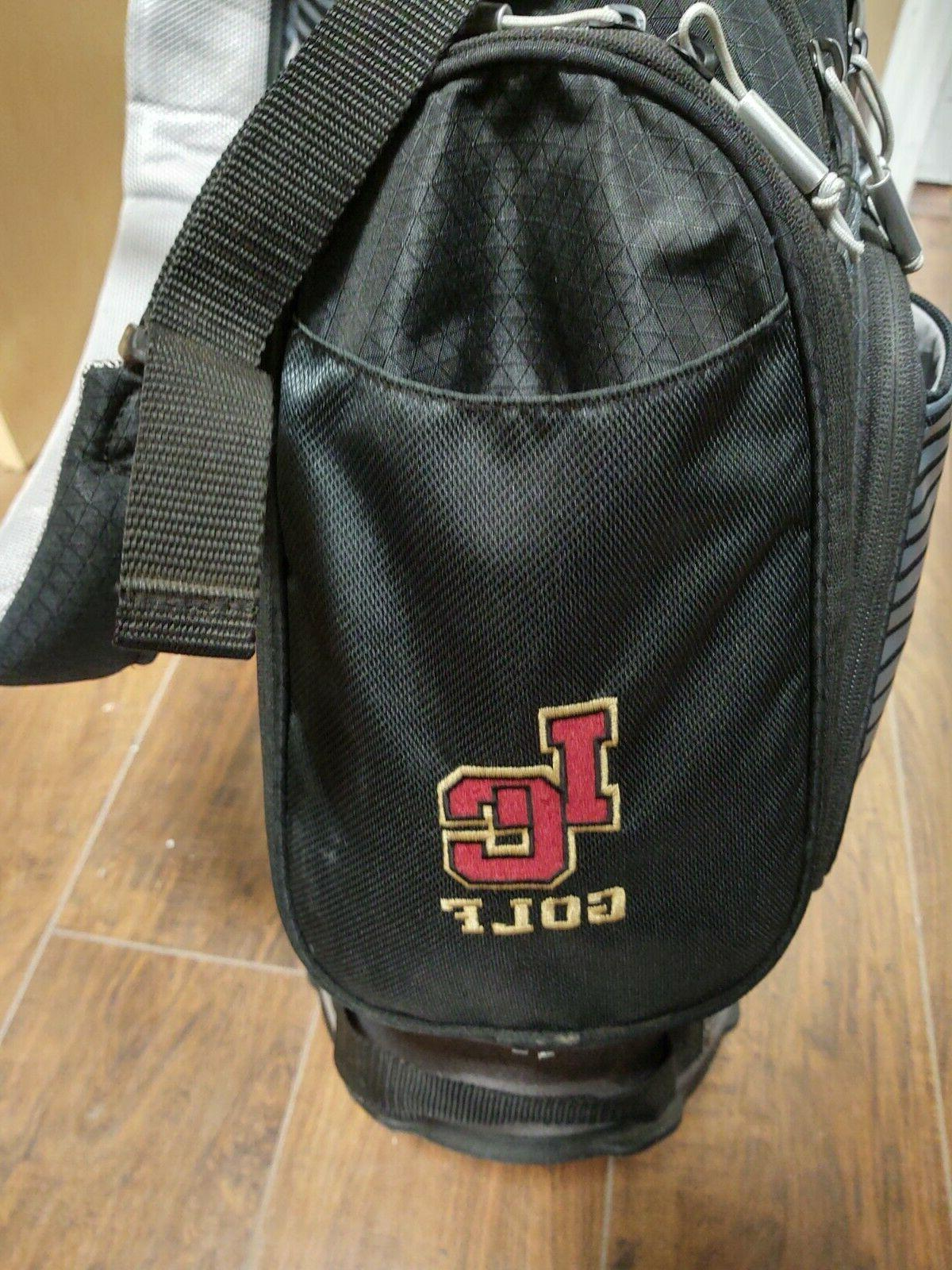 Nike Divider Dual Stand Bag Black/Gray