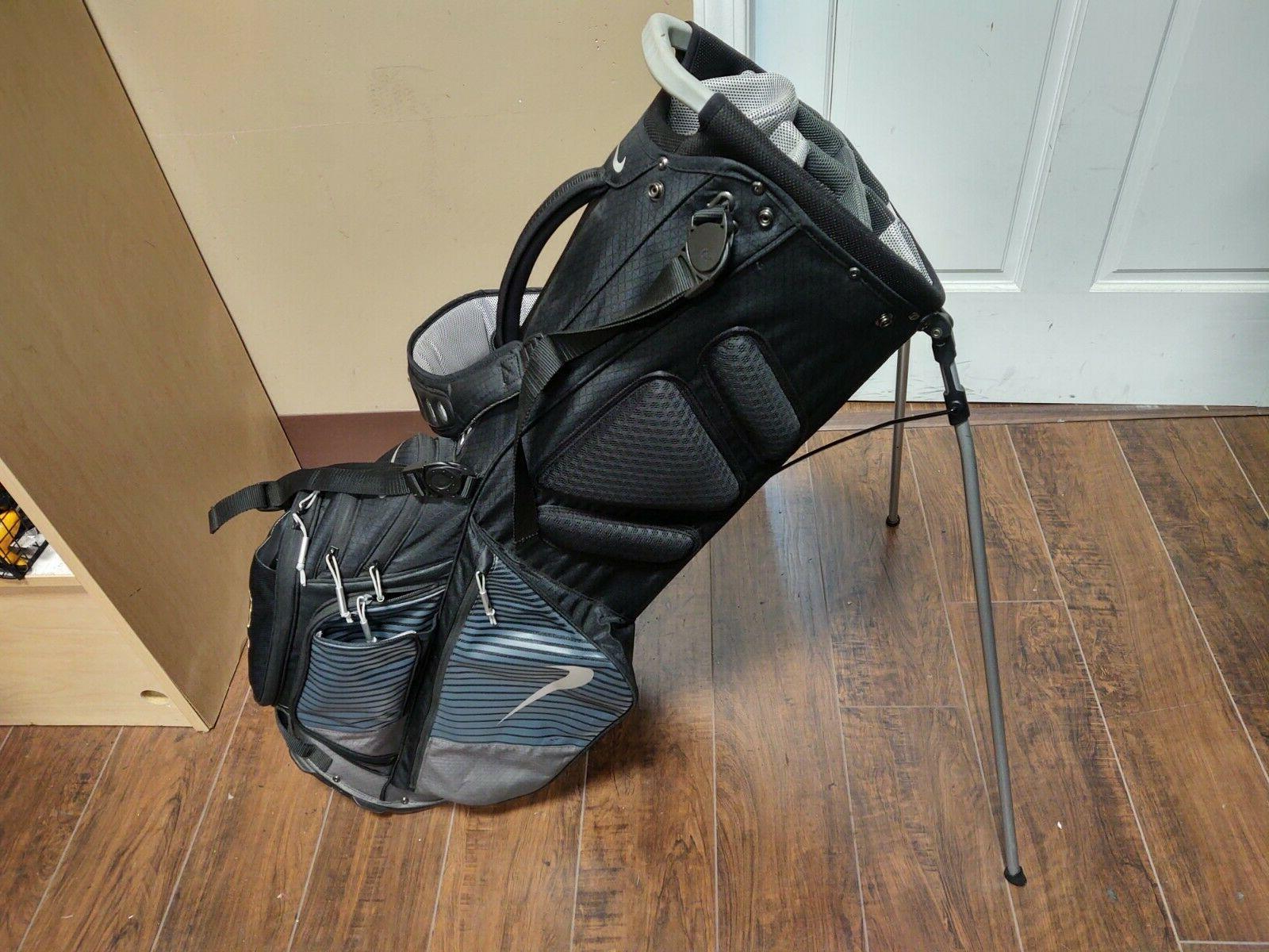 Nike Air Hybrid Divider Strap Golf Stand Black/Gray