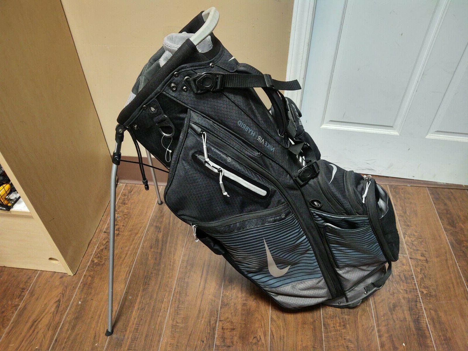 air hybrid 14 divider dual strap golf