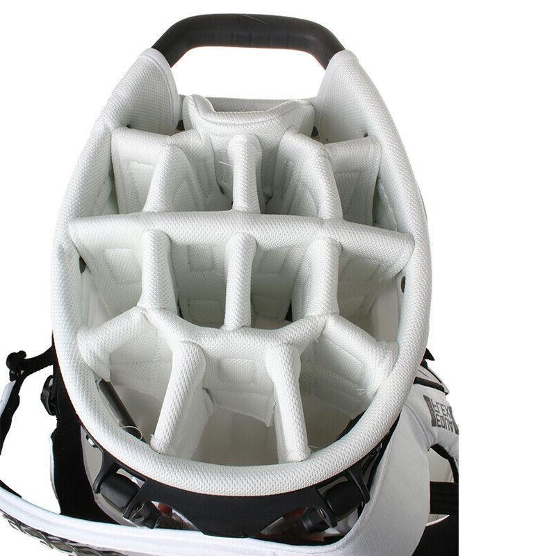 Nike Air Caddie Golf Bag White CV1514-101