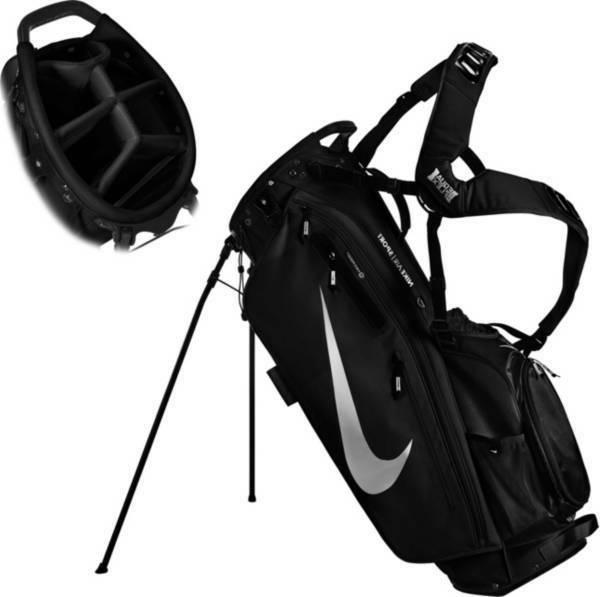 air sport golf stand bag black new