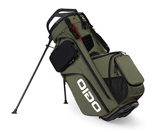 alpha convoy 514 golf stand bag olive