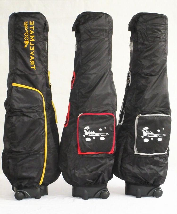 A99Golf Travel Hybrid Carry Cover wheel travel golf bag