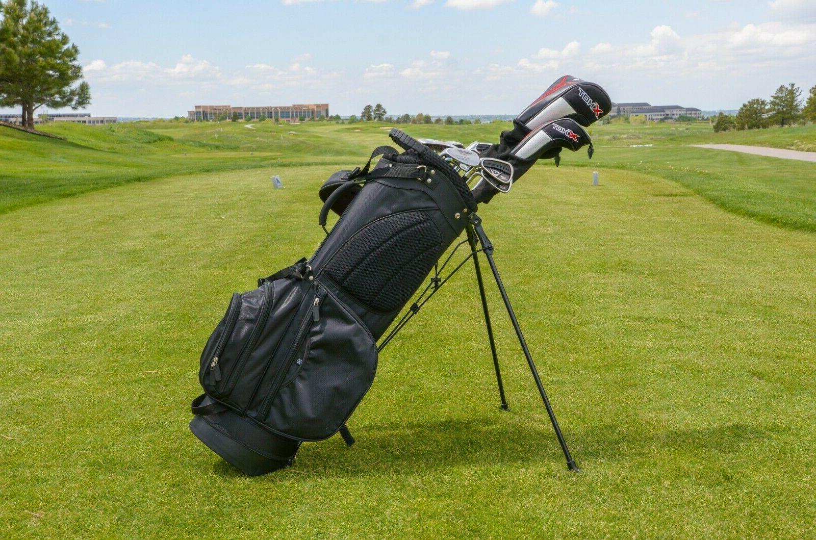 Black Stand Golf Bag