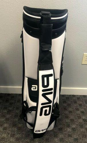 Brand Tour Staff Bag White/Black Ping Golf