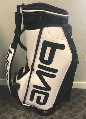 brand new 2019 tour staff bag white