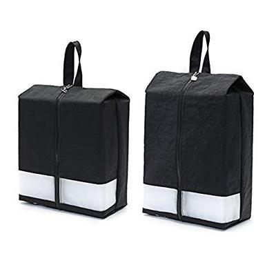 caddydaddy golf modern golf shoe bag black