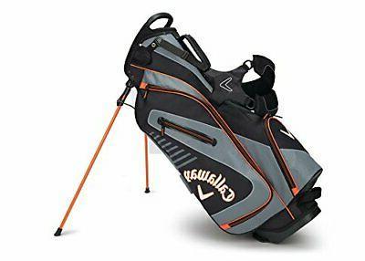callaway golf 2017 capital stand bag black