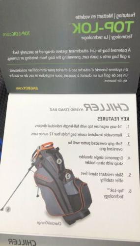 Bag Chiller Hybrid Stand Bag Full Length Individual Dividers