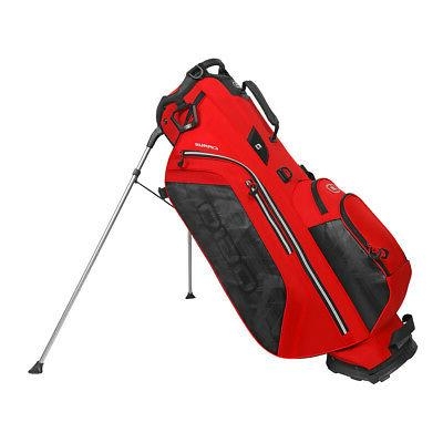 cirrus stand bag fiery red