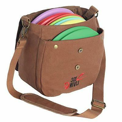 Disc Golf Bag | Frisbee Golf Bag Lightweight Up 10 Belt Loop