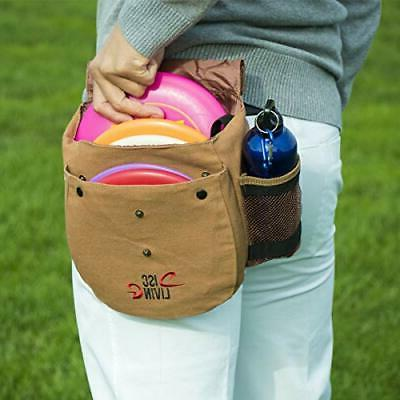 Disc Golf Bag | Frisbee Golf Bag | Lightweight Fits to 10 Loop