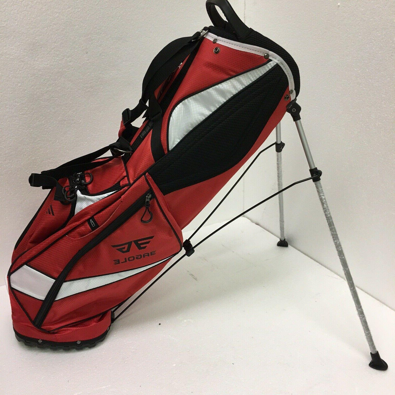 EG Pockets, lbs Golf Stand / Color Red, White